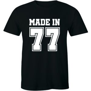 Made in 1977 Vintage T-Shirt. Born 1977 40th Year